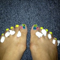 "Photo taken at Tip ""O"" Nails by Kitty D. on 7/12/2013"