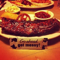 Photo taken at Montana's Cookhouse Bar & Grill by Simon C. on 2/12/2013