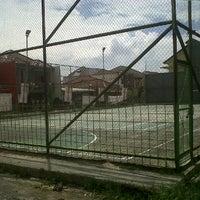 Photo taken at Lapangan Tennis Margaasih by Nino C. on 11/20/2012