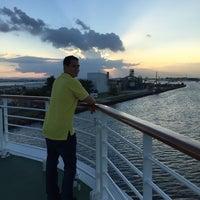 Photo taken at Isla Grande Pier by Damaris M. on 11/2/2014