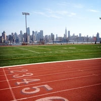 Photo taken at Weehawken Waterfront Park and Recreation Center by Laura F. on 3/10/2013