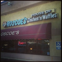 Photo taken at Roscoe's House of Chicken and Waffles by Carlos G. on 7/25/2013