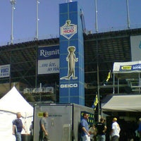 Photo taken at Chicagoland Speedway by Christina G. on 9/15/2012