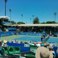Photo taken at Taube Family Tennis Stadium by Jane R. on 8/3/2015
