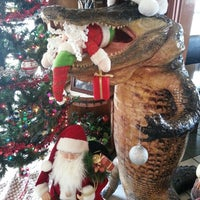 Photo taken at Gator Grill by Daniel C. on 12/14/2013