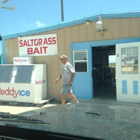 Photo taken at Saltgrass Bait & Tackle by Patsy T. on 7/18/2013