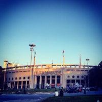 Photo taken at Estádio Municipal Paulo Machado de Carvalho (Pacaembu) by Bruno B. on 7/17/2013