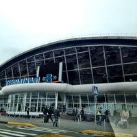 Photo taken at Terminal B (KBP) by Ярослав on 10/25/2012