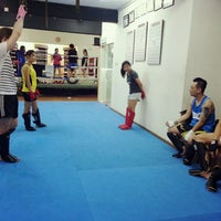 Photo taken at Combat Kickboxing by Alex S. on 4/24/2014