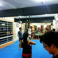 Photo taken at Combat Kickboxing by Alex S. on 3/25/2014