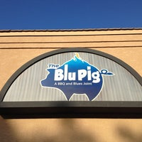 Photo taken at The Blu Pig & Blu Bar by Marc M. on 7/20/2013