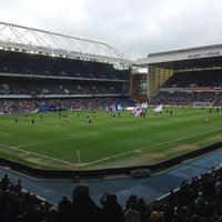 Photo taken at Ibrox Stadium by Alex S. on 5/7/2013