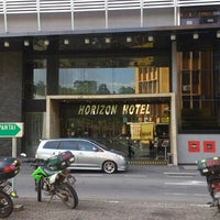 Photo taken at Horizon Hotel by Hä®®is M. on 1/10/2013