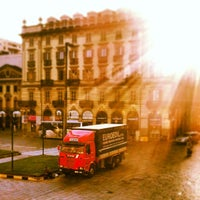 Photo taken at Piazza Solferino by Diego S. on 6/19/2013