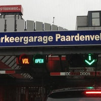 Photo taken at Parkeergarage Paardenveld by Brian B. on 12/27/2012