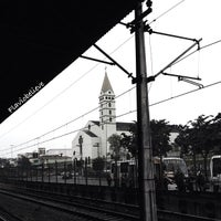 Photo taken at Estação Guaianases (CPTM) by Flavio A. on 7/23/2013