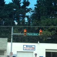 Photo taken at Red Light at 422 & Church Road by Jodi Z. on 8/23/2013