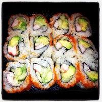 Photo taken at Tokyo Sushi by Mariuxi I. on 11/8/2012