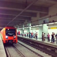 Photo taken at Metro Ermita by oscar a. on 5/1/2013