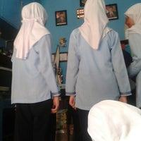 Photo taken at SMP Negeri 1 Bandung by Yasmin N. on 5/17/2013