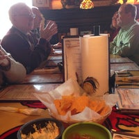 Photo taken at Los Gallos Authentic Mexican Restaurant and Sports Cantina by Don M. on 2/4/2014