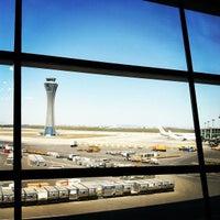 Photo taken at Beijing Capital International Airport (PEK) by Beau B. on 4/18/2013
