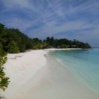 Photo taken at Sheraton Maldives Full Moon Resort & Spa by Ali S. on 2/8/2013