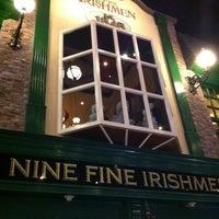 Photo taken at Nine Fine Irishmen by Matthew K. on 6/24/2013