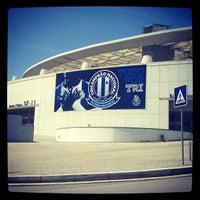 Photo taken at Estádio do Dragão by Pedro R. on 5/22/2013