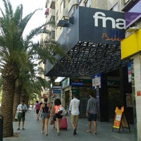 Photo taken at Fnac Alicante Bulevar by Vero C. on 8/3/2013
