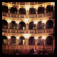 Photo taken at Teatro Comunale by Manuela S. on 9/27/2012