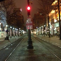 Photo taken at Court Trolley Station by Anthony J. on 12/5/2012