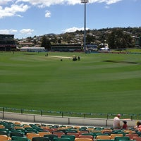 Photo taken at Blundstone Arena by Anthony F. on 1/23/2013