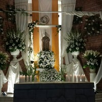 Photo taken at Parroquia Nuestra Señora del Carmen by Pia A. on 3/25/2016