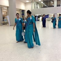 Photo taken at Bandaranaike Int'l Airport (CMB) by Kris V. on 2/10/2013