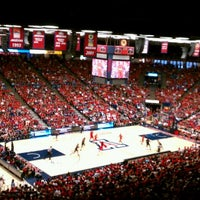 Photo taken at McKale Center by Camille E. on 10/22/2011