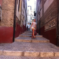 Photo taken at Hostal Atenas Granada by Jana K. on 7/30/2014