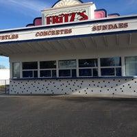 Photo taken at Fritz's Frozen Custard by Mary Jo T. on 12/5/2012