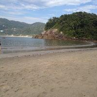Photo taken at Praia das Conchas by Nata F. on 12/29/2014