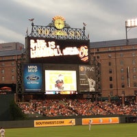 Photo taken at Oriole Park at Camden Yards by Matt N. on 8/3/2013