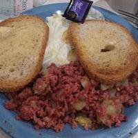 Photo taken at Pamela's P&G Diner by rivlia on 7/5/2013