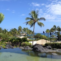 Photo taken at Grand Hyatt Kauai Resort & Spa by Cara on 10/10/2012