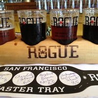 Photo taken at Rogue Ales Public House by Anderson W. on 11/24/2012