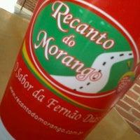 Photo taken at Recanto Do Morango by Alex S. on 10/4/2012