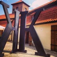 Photo taken at Franz Kafka Museum by bellatrix b. on 7/17/2013