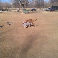 Photo taken at White Rock Lake Dog Park by Joseph P. on 1/23/2013