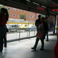 Photo taken at TransMilenio: Puentelargo by oscar R. on 11/2/2012
