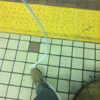 Photo taken at Subway Sapporo Station (N06/H07) by Chinami S. on 10/17/2012