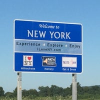 Photo taken at New York - Pennsylvania State Line by Bryan G. on 8/9/2015