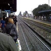 Photo taken at Estación Merlo [Línea Sarmiento] by C F. on 5/31/2013